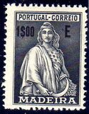 Madeira 1929 Ceres (London Issue) o