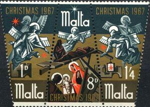 Malta 1967 Christmas d