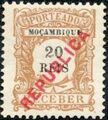 Mozambique 1916 Postage Stamps from 1904 Overprinted REPUBLICA c.jpg