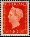 Netherlands 1947 Queen Wilhelmina - Type Hartz f