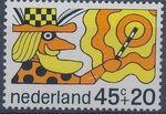 Netherlands 1968 Child Welfare Surtax e