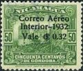 Nicaragua 1932 Stamps of 1914-1932 Surcharged in Black k.jpg