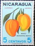 Nicaragua 1968 Fruits a