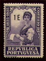 Portugal 1925 Birth Centenary of Camilo Castelo Branco u