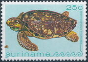 Surinam 1982 Turtles d