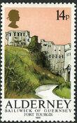 Alderney 1986 Alderney Forts b