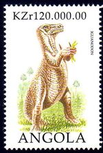 Angola 1998 Prehistoric Animals (1st Group) b