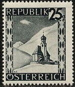 Austria 1946 Landscapes (II) h