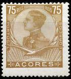 Azores 1910 D. Manuel II h