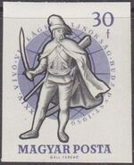 Hungary 1959 24th World Fencing Championships ac
