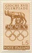 Italy 1960 Olympic Games Rome a