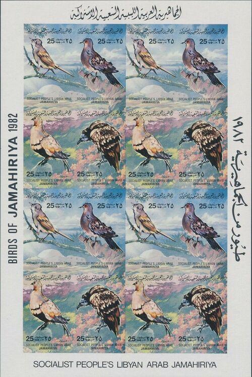 Libya 1982 Birds Sh