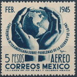 Mexico 1945 Inter-American Conference (Airmail) c
