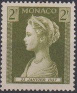 Monaco 1957 Birth of Princess Caroline b