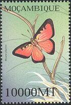 Mozambique 2002 Butterflies t
