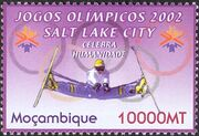 Mozambique 2002 Olympic Winter Games 2002 - Salt Lake City a