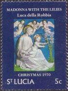 St Lucia 1970 Christmas a