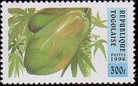 Togo 1996 Fruits d