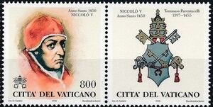 Vatican City 1998 The Popes and the Holy Years (1st Group) e