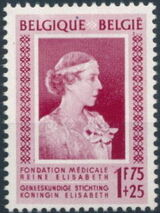 Belgium 1951 Queen Elisabeth Medical Foundation b
