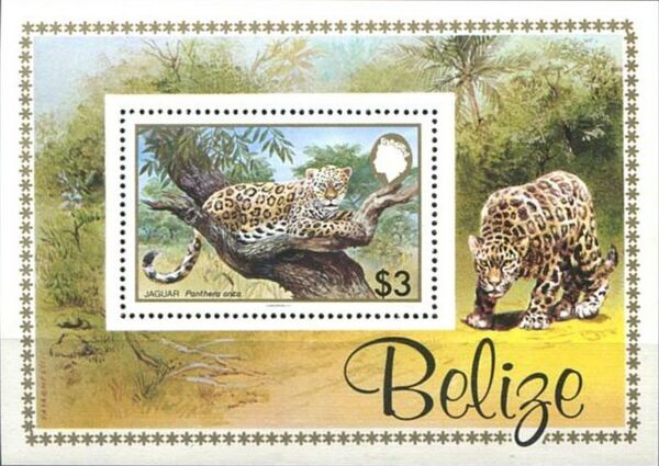 Belize 1983 WWF - Jaguar SSa