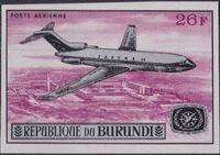 Burundi 1967 Opening of the Jet Airport at Bujumbura and International Tourist Year h