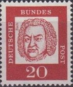 Germany, Federal Republic 1961 Famous Germans f