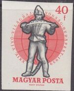 Hungary 1959 24th World Fencing Championships ad