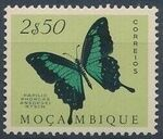 Mozambique 1953 Butterflies and Moths l