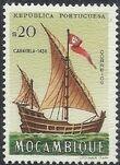 Mozambique 1963 Development of Sailing Ships b