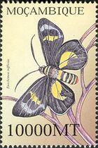Mozambique 2002 Butterflies b