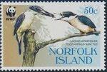 Norfolk Island 2004 WWF Sacred Kingfisher a