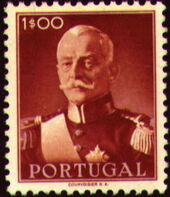 Portugal 1945 President Carmona e