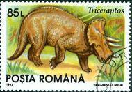 Romania 1993 Dinosaurs c