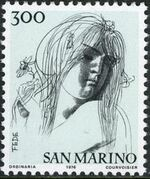 "San Marino 1976 ""Civic Virtues"" h"