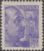 Spain 1939 General Franco - 1st Group a