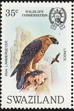 Swaziland 1983 WWF Bearded Vulture b