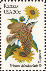 United States of America 1982 State birds and flowers o