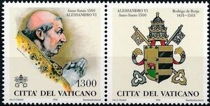 Vatican City 1998 The Popes and the Holy Years (1st Group) g