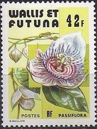 Wallis and Futuna 1979 Flowers b