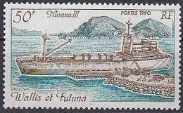 Wallis and Futuna 1990 Moana Ships b