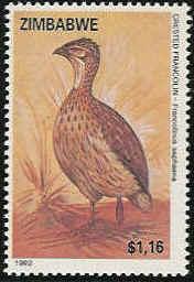 Zimbabwe 1992 Birds of Zimbabwe f