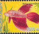 Azerbaijan 2002 Aquarian Fishes