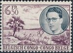 Belgian Congo 1955 King Baudouin First Trip to Congo h