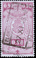 Belgium 1941 Railway Stamps (Numeral in Rectangle IV) i