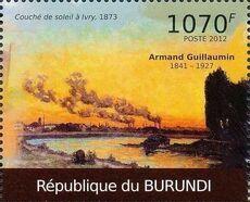 Burundi 2012 Paintings by Armand Guillaumin a