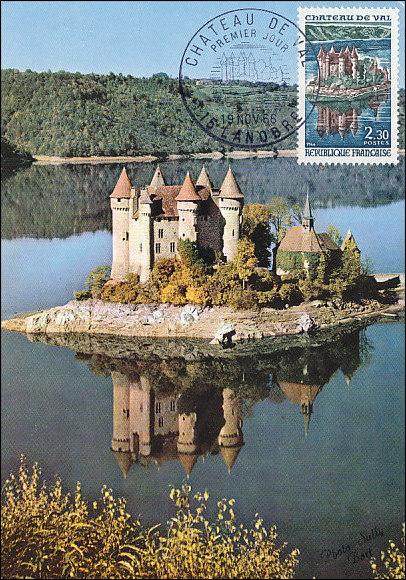 France 1966 Tourism - Val Chateau MCa