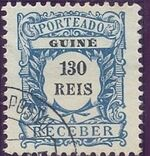Guinea, Portuguese 1904 Postage Due Stamps h