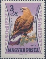 Hungary 1962 65th Anniversary of the Agricultural Museum - Birds of Prey g