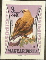 Hungary 1962 65th Anniversary of the Agricultural Museum - Birds of Prey o